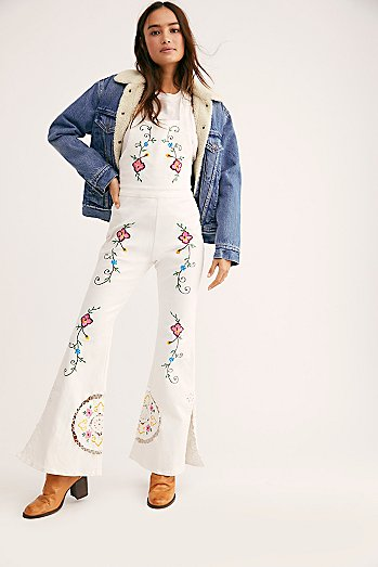 White Jumpsuits For Women Cute Boho Jumpsuits Free People