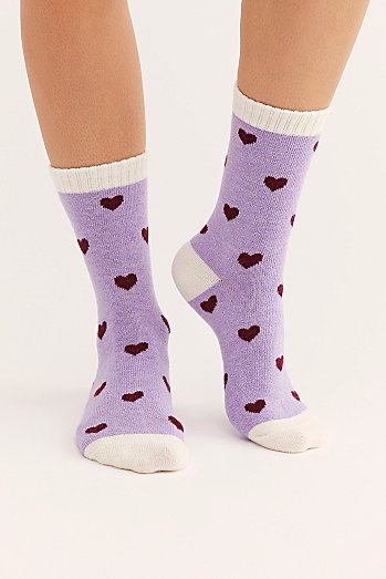Kind Hearted Cozy Sock