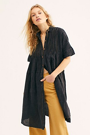 We The Free Live For Today Maxi Buttondown by Free People