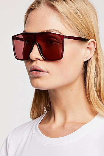 Bright Eyes Shield Sunglasses