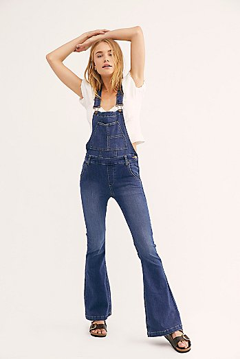 Carly Flare Dungarees