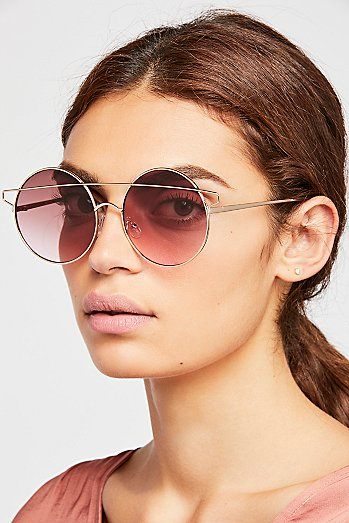 Freja Circle Sunglasses