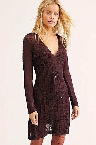 Slide View 1: Miranda Sweater Mini Dress