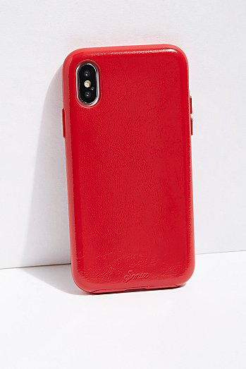 Poppy Vegan Patent Leather Phone Case