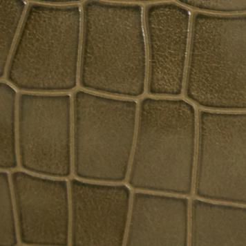 橄榄色鳄鱼纹