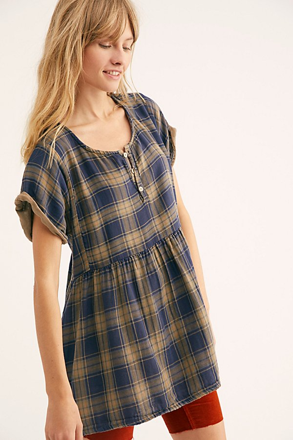 Slide View 2: Some Like It Plaid Tunic