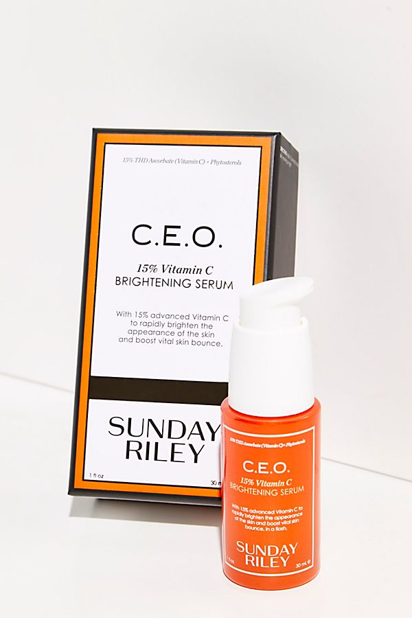 Sunday Riley C.E.O Rapid Flash Brightening Serum | Free People