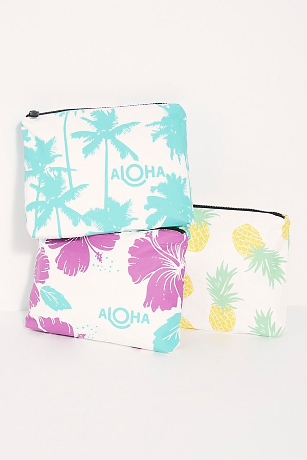 Slide View 1: Aloha Printed Pouch