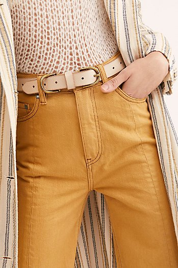 Denim Days Double Buckle Belt