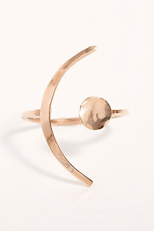 Mint Stargaze Ring by Free People