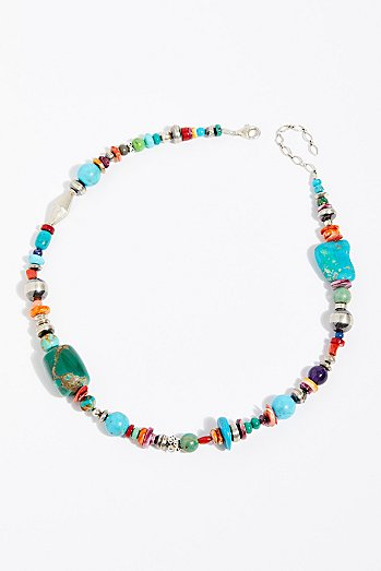 Navajo Treasure Necklace