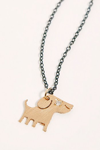 14k Diamond Chinese Zodiac Charm Necklace