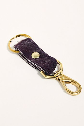 Primecut Colorful Leather Keychain