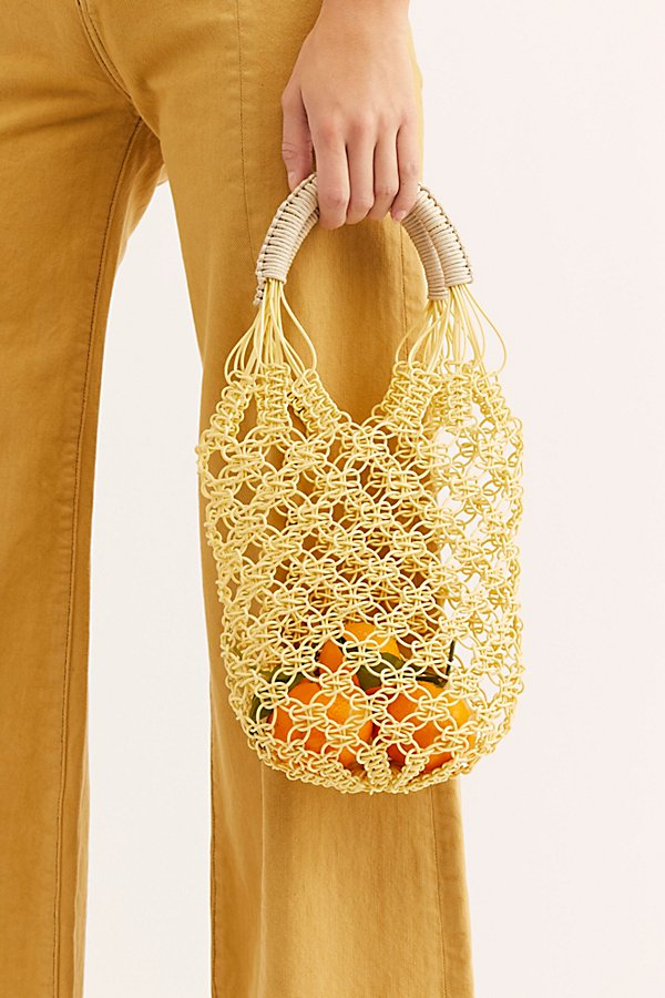 Slide View 2: Jelly Plastic Basket Bag