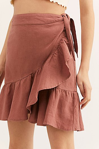 Ruffle My Feathers Mini Skirt