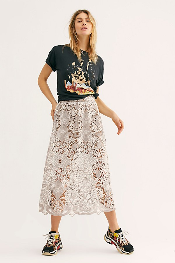 Slide View 1: Bella Lace Skirt