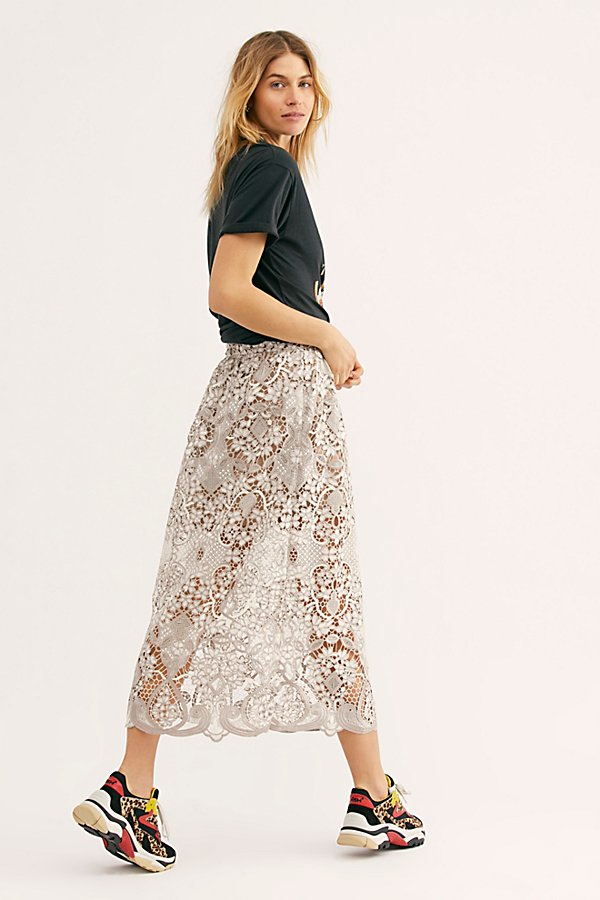 Slide View 2: Bella Lace Skirt