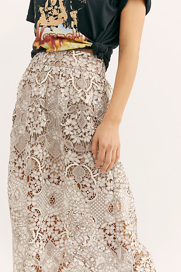 Slide View 3: Bella Lace Skirt