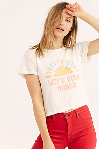 Let's Hold Hands Tee by Free People