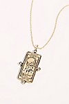 Thumbnail View 1: The Moon Tarot Card Necklace