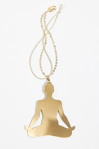 Yoga Pose Hanging Ornament