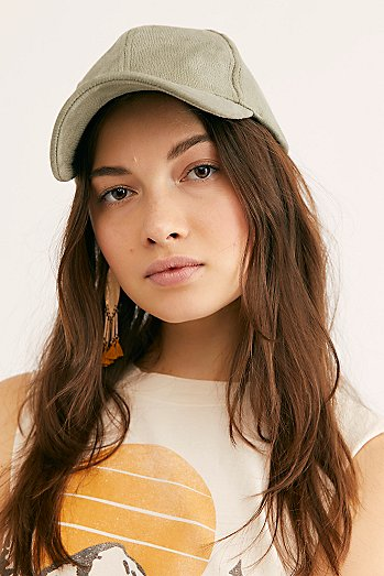 Brooklyn Vegan Suede Baseball Hat
