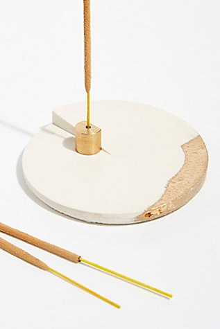 Ceramic Incense Holder by Free People