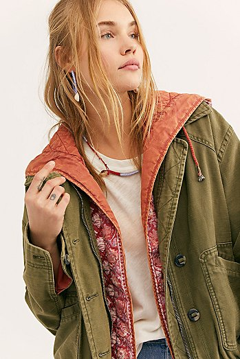 Two-fer Military Bomber Jacket