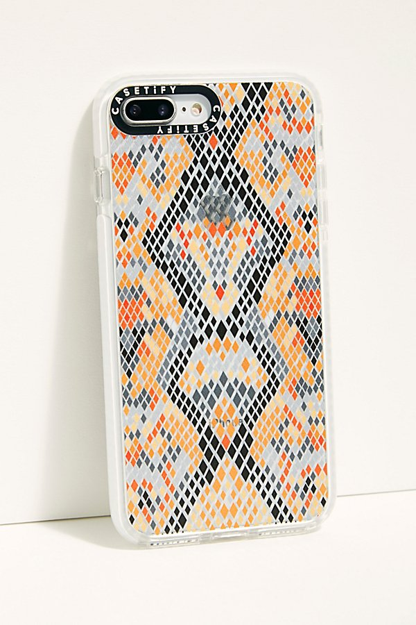 Slide View 1: Vibrant Snakeskin iPhone Case