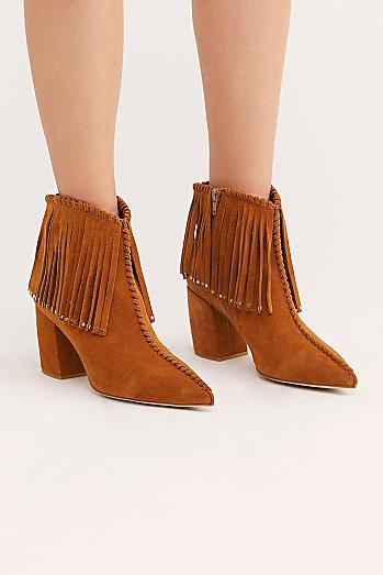 Crossroads Fringe Boot