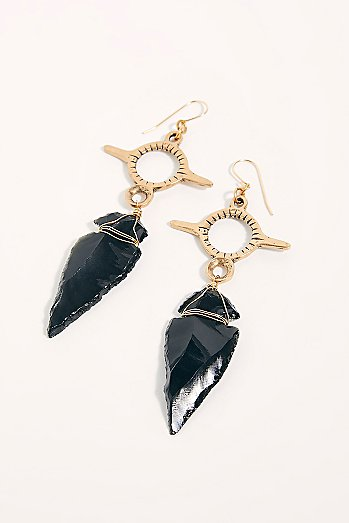 Aya Arrowhead Earrings
