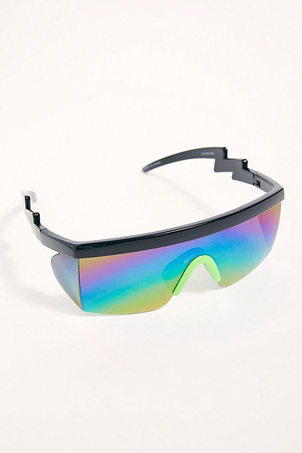 Slide View 1: Brenda Sport Shield Sunglasses
