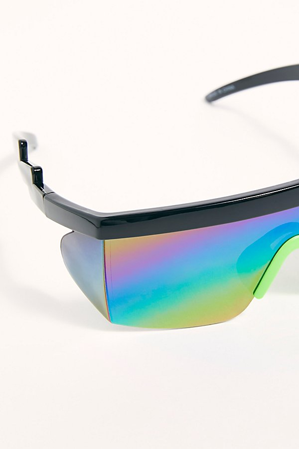 Slide View 2: Brenda Sport Shield Sunglasses
