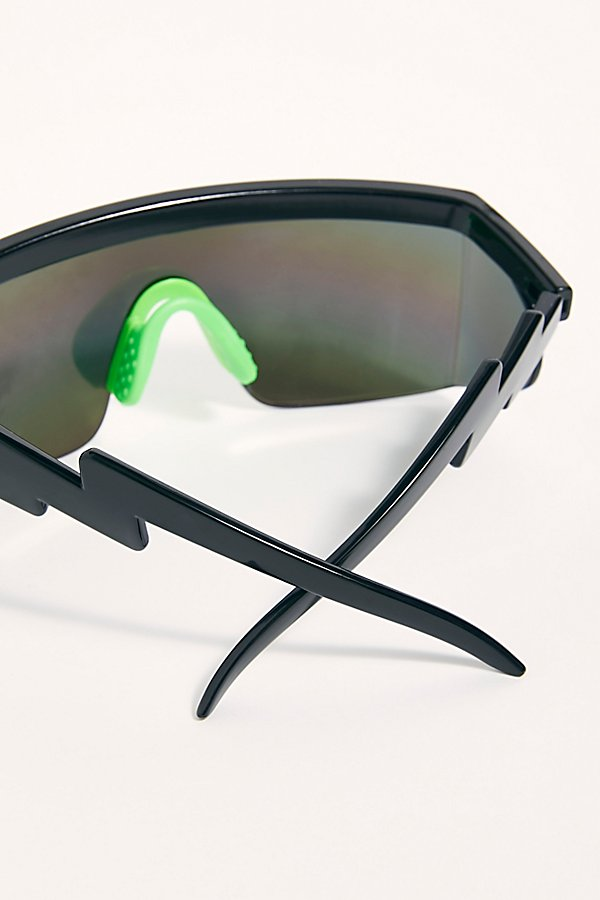 Slide View 3: Brenda Sport Shield Sunglasses