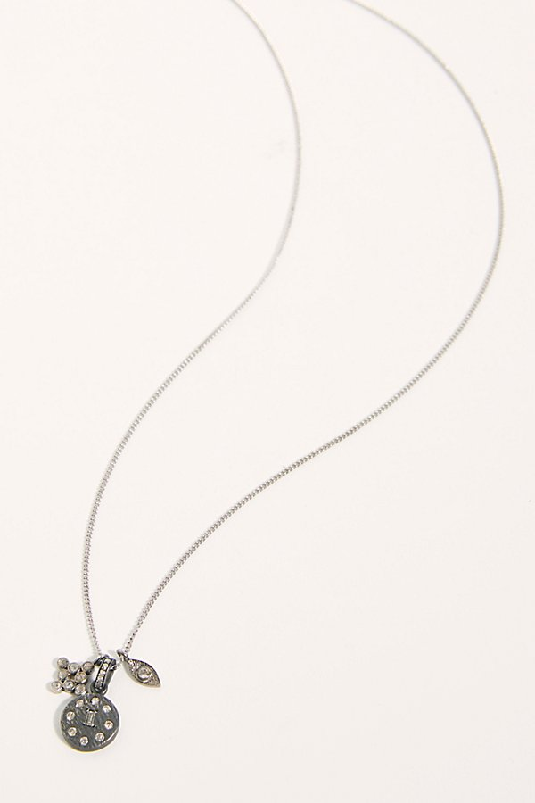 Slide View 1: Diamond Mantra Necklace