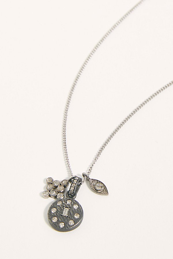 Slide View 2: Diamond Mantra Necklace