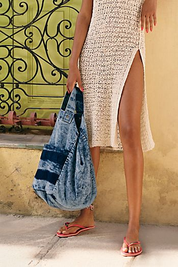 We The Free Oversized Washed Denim Tote a4e461e1a285