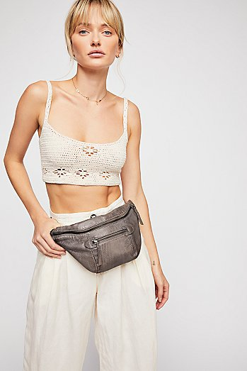 City Distressed Belt Bag