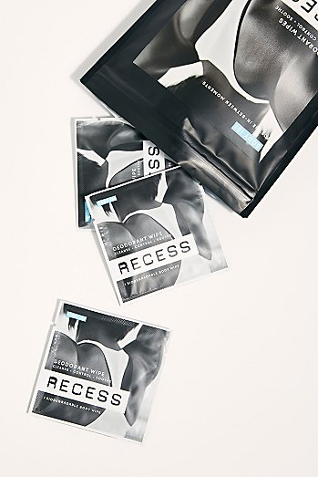 RECESS Deodorant Wipes