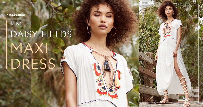 Shop Daisy Fields Maxi Dress
