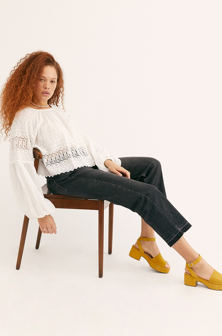 CRVY Krista Mid Rise Boyfriend Jeans